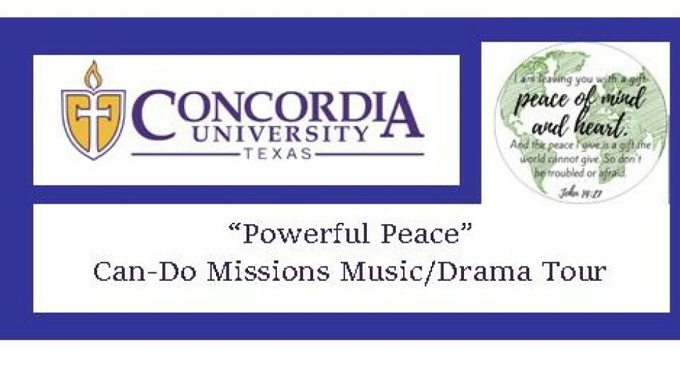 Concordia University Texas Can Do Mission Tour