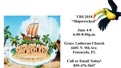 """Shipwrecked"" VBS 2018"